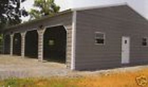 24x50 Metal Garage, Storage Building FREE DELIVERY & INSTALLATION! (prices vary)