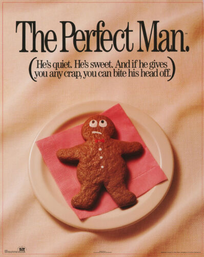 POSTER : COMICAL :  THE PERFECT MAN        FREE SHIPPING ! #8907      RC9 E