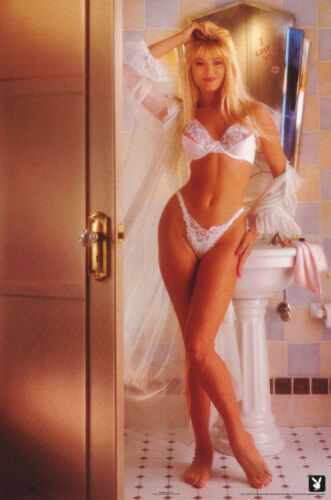 POSTER :  I LOVE YOU  - SEXY PLAYBOY  MODEL  -  FREE SHIPPING !   #2117   LP39 O