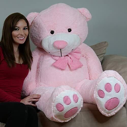 YesBears 60'' Big Huge GIANT TEDDY BEAR Stuffed Animal 2 Colors(Pillow Included) <br/> SHIPS VIA 2-3  DAYS DELIVERY  (U.S ONLY)