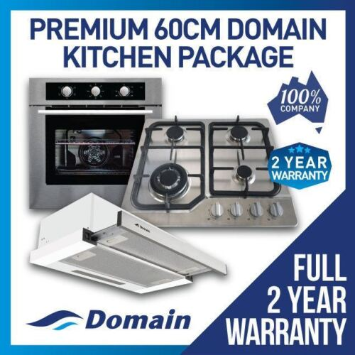 NEW KITCHEN APPLIANCE PACKAGE! OVEN, COOKTOP, RANGEHOOD <br/> BONUS 12% OFF AUTO APPLIED AT CHECKOUT - BE QUICK