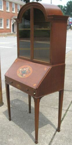 Real Nice Antique French Secretary Desk~Nice Inlay Work~Local Pick-Up Only