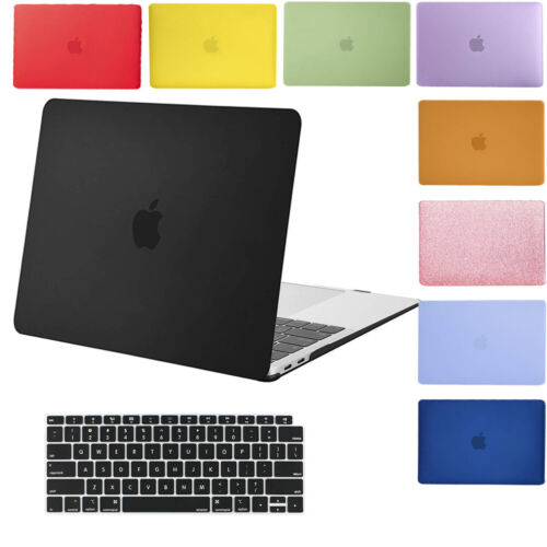 Macbook Air 11 13 Case Rubberized Hard Shell Cover Air 13 A1466/A1369 A1932 2019