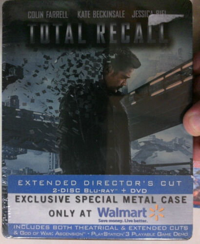 Total Recall (Walmart Exclusive 2 Disc Steel Case) (USA Import, Region A)
