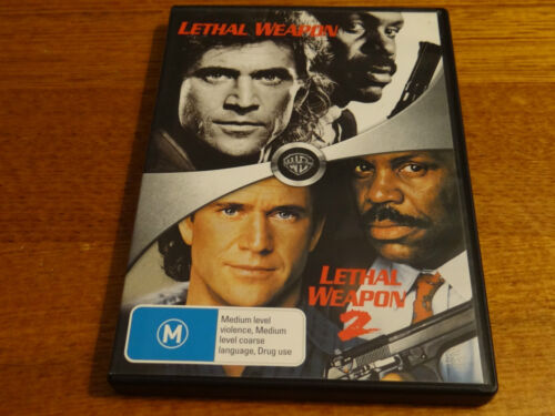 LETHAL WEAPON AND LETHAL WEAPON 2 DVD *GOING CHEAP*