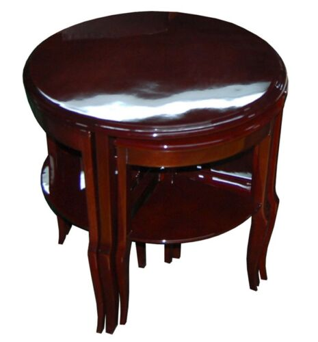 French Art Deco Nesting Tables #6811