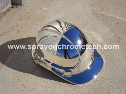 Spray On Chrome Metalizing Kit  Airbrush  Spray Metal Plating