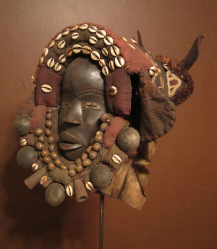 Mask – Dan (Yacouba / Krahn / Kru / Wee) people, Liberia and Côte d'Ivoire.