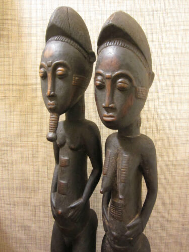 Figure Pair – Baule people, Côte d'Ivoire, West Africa