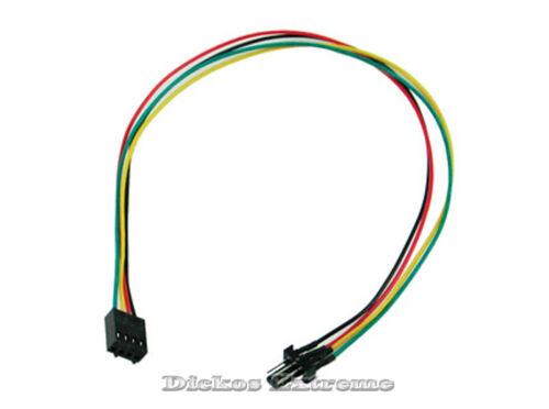30cm 4 pin PWM male to 4 pin PWM female ext  fan cable
