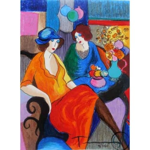 TARKAY ** CHIT CHAT** SERIGRAPH ON PAPER