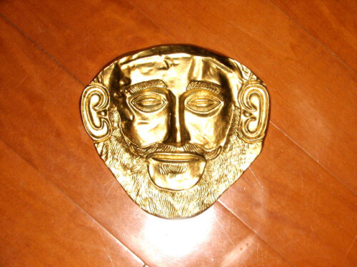 Troy, Death Mask of Agamemnon, Very Detailed Must Have Piece