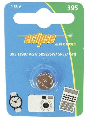 AG7 395A SR57 Button Cell Battery for Watch Thermometer Calculator and More