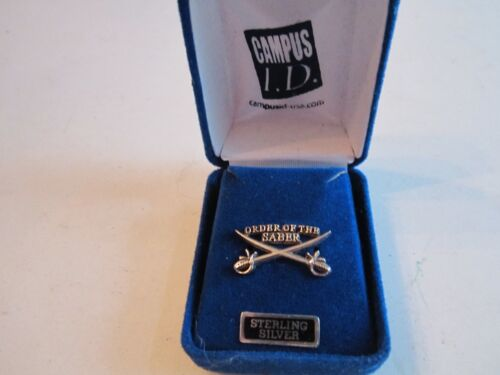 """ORDER OF THE SABER PIN - STERLING SILVER - 1"""" LONG - BB-2Other Militaria - 135"""