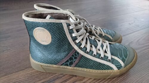 Marc Jacobs Sneakers - BNWT Snake Skin & Calfskin Trainers Shoes /UK8 EU42