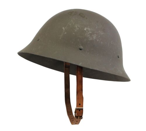 MILITARY SURPLUS Swedish M-26 Helmet (No Edging)1939 - 1945 (WWII) - 13977