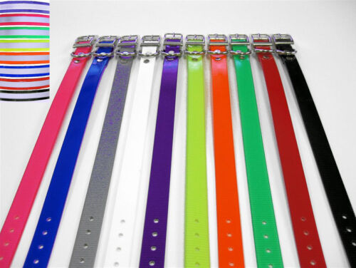 "GVDS 3/4"" Dog Collar Strap for Dogtra 280NCP 300M iQ Plus 1900S 1902S 282NCP"