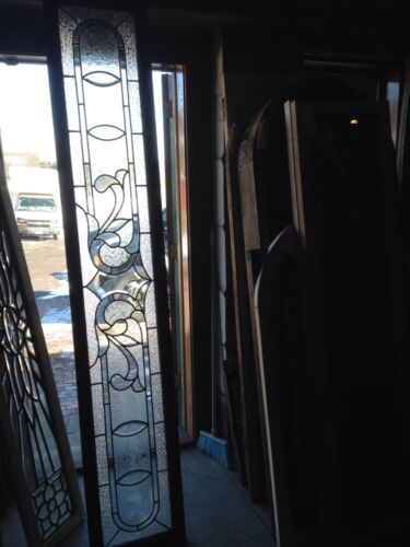 Sg 96 Extra Long Antique Textured Glass Transom Window