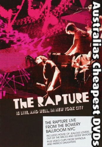 The Rapture Is Live and Well, In New York DVD NEW, FREE POST WITHIN AUS Region 4