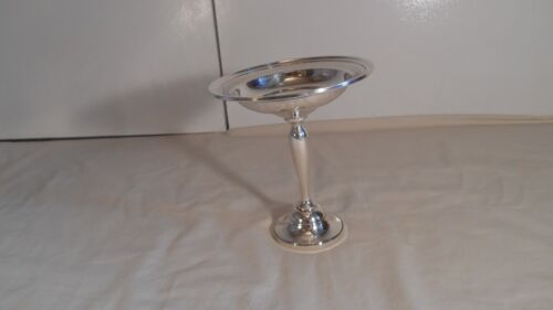 Webster Company Sterling Silver Pedestal Serving Dish, 212.2 grams, Weighted