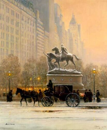 FIFTH AVENUE - ARTIST PROOF - G HARVEY -  LIMITED EDITION  OF 150