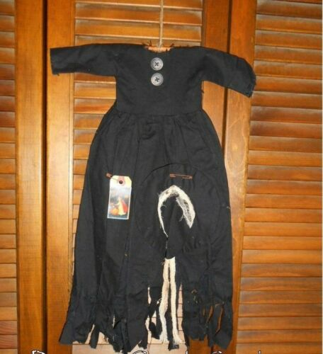 Primitive Decor Wall Dress RAGGEDY WITCH, HAG  Halloween, Grungy