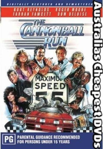 Cannonball Run DVD NEW, FREE POSTAGE WITHIN AUSTRALIA REGION 2 & 4