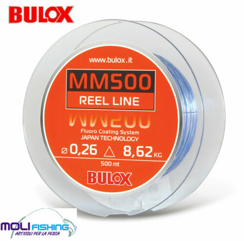 NYLON MULINELLO BULOX MM500 - 500 MT RIVESTIMENTO FLUORO COATING MADE IN JAPAN