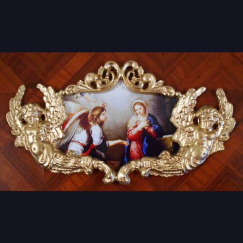 Anunciation.Faux ormolu.Furniture mounts/decor.