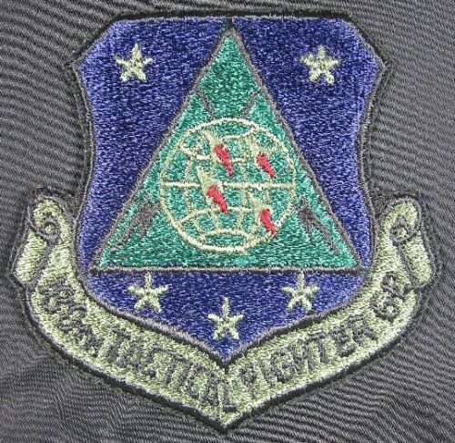 USAF Patch 180th Tactical Fighter Group Dark BlueAir Force - 66528