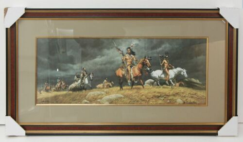 Frank McCarthy Limited Edition Art Signed | Professionally Framed