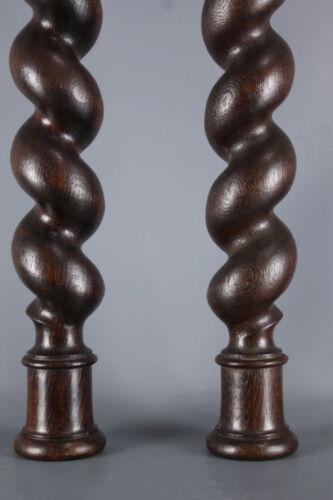 Wonderful French  Architectural Spiral Turned Barley Twist Column
