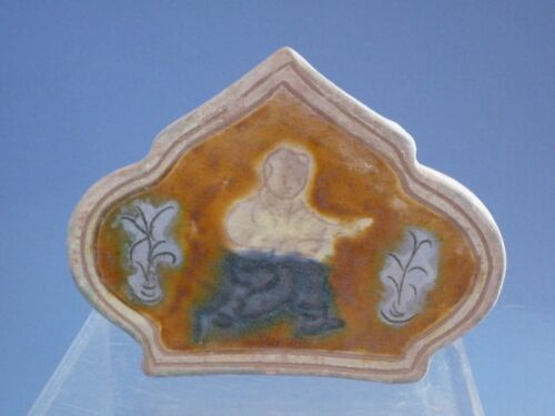Song Dynasty three-color carved pillow
