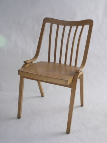 Cool curvey designer desk chair made by TON/Thonet