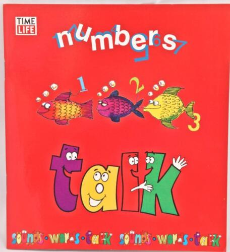 Numbers Talk Book Time Life First Skills Program Counting Number Words Reading