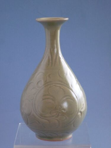 Song Dynasty 12th Century Chinese (Yao Zhou)  Carved  Vase