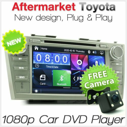 "8"" Car DVD USD MP3 Player For Toyota Aurion Camry Altise AT-X Sportivo Radio TU"