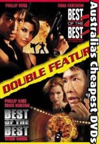 Best of the Best 3&4 DVD NEW, FREE POSTAGE WITHIN AUSTRALIA REGION ALL