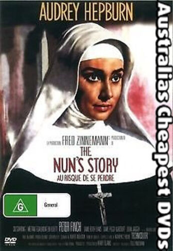 The Nun's Story DVD NEW, FREE POSTAGE WITHIN AUSTRALIA REGIONS ALL