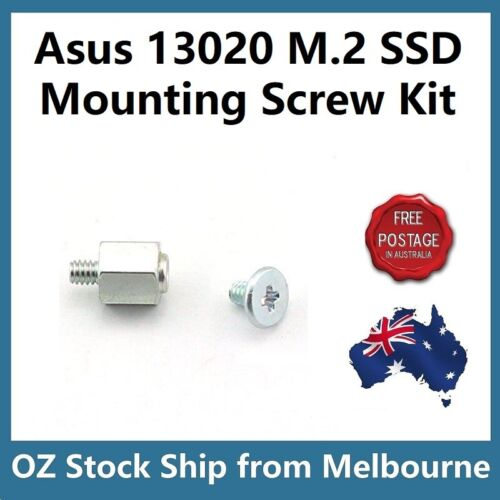 Genuine Asus 13020 M.2 SSD Mounting Kit Stand Off + Screws for Asus Motherboard