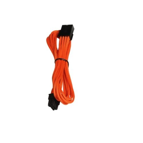 Bitfenix Orange 45cm EPS 8Pin Sleeved Power Cable Extension BFA-MSC-8EPS45OK-RP