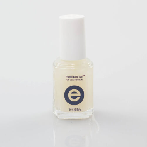 ESSIE Nail Polish, Matte About You Top Coat 100% Authentic