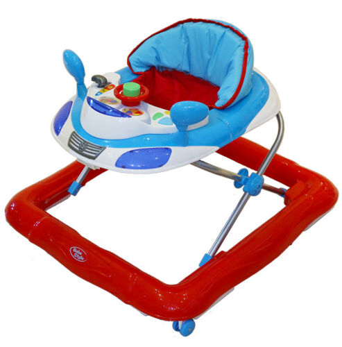 Bebe Style Deluxe Car Themed Baby Walker + Musical Activity Toy! NEW <br/> HIGHEST QUALITY!! HIGHEST SAFETY!! HIGHEST VALUE!!!