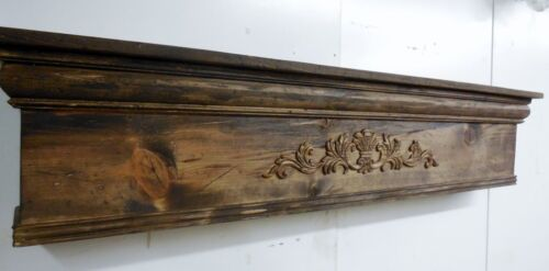 Rustic Fireplace Mantle, Distressed Mantle, Primitive Mantle, 36 inch mantle