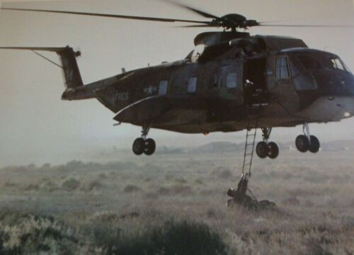 """Special Operations CH-3E Helicopter US Air force Official Poster 17"""" X 22""""Air Force - 66528"""