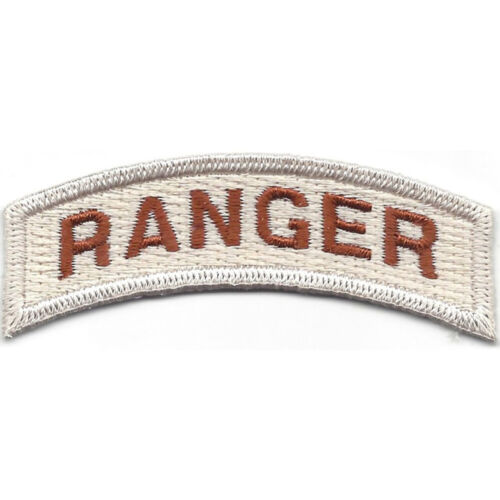 Army Ranger Rocker Desert PatchPatches - 36078