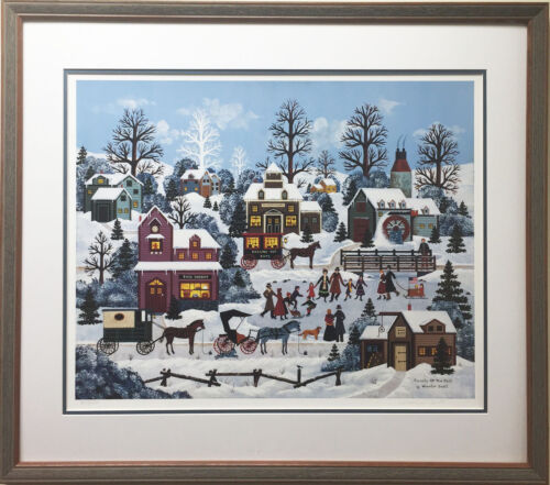 """Jane Wooster Scott """"Pursuits of the Past"""" CUSTOM FRAMED Lithograph Hand Signed"""
