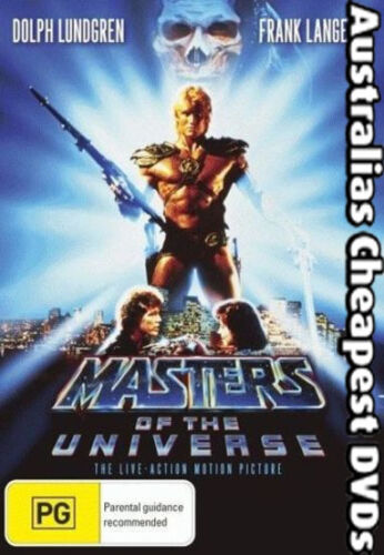 Masters Of The Universe DVD NEW, FREE POSTAGE WITHIN AUSTRALIA REGION 1&4
