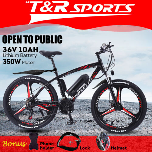 """2020 ROKETTO 350W 36V BM Folding Electric Bike eBike Mountain Bicycle 26"""" Tire <br/> NEW DESIGN 