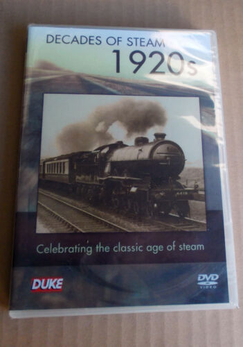 Decades Of Steam 1920's - DVD) all Region  Brand New Free Post